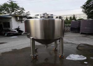 China OEM SS316L 3500L Mobile Tank With Hydraulic Device wholesale