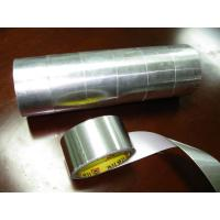 China hot melt Rubber Aluminium Foil Tape , high Temperature Adhesive high temp foil tape wholesale