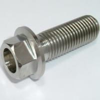 China Titanium Flanged Hex Head Bolts wholesale