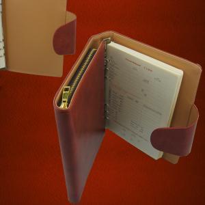China Custom Letter Size Business Portfolio Leather Organizer, A4 Size Excutive Document Genuine wholesale