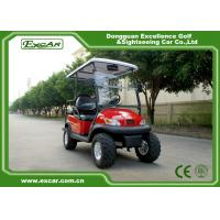 China EXCAR 48V 3KW Dune Buggy Club Car , Electric Hunting Carts For Adult wholesale