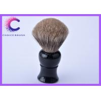 Quality Black long handle best mens shaving brush with pure badger for male for sale