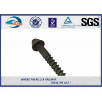 China Post Anchor Screw Anchor Fence Spike Track Spike Railway Fasteners SGS / ISO9001 on sale