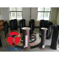 China Api 5ct Ms Round Seamless Welded Pipe , Erw Casing Q235 Mechanical Steel Tubing wholesale