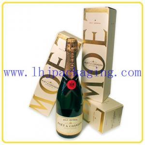 China one bottle wine box wholesale
