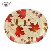 Wholesale China Plate for Hotel/Bamboo/Restaurant/Dishes/ Cake/Tableware/Eco-Friendly/Houseware/Hand from china suppliers