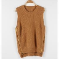 Buy cheap POLO Women's Fine Knit Sweaters Vest Sleeveless V-neck Mink Cashmere from wholesalers