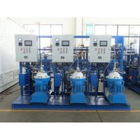 China 3000 - 9000 L/H Automatic PLC Centrifugal Oil Separator Lubricating wholesale