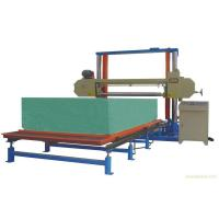 China Horizontal Automatic Polyurethane / PU Foam Cutting Machine For Sponge Sheet wholesale