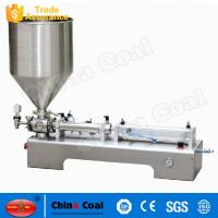 China Hot Sale Products Semi-automatic Horizontal One Head Ointment Piston Filling Machine wholesale
