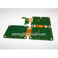 China Multilayer Mix Rigid Flexible PCB L2-18 Gold Plating Blind / Burried Vias wholesale
