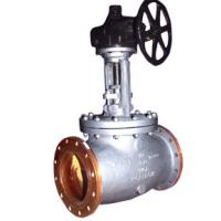 Flange BW ENDS BS 1873 Globe Valve BB Outside Screw And Yoke DISC , RF Connect