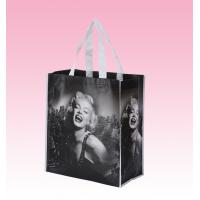 Wholesale custom black laminated non woven polypropylene bags polyester tote bags supplier from china suppliers