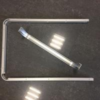 China Custom Small Radius Aluminum Bending Profiles with Silver Anodized wholesale