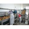 Buy cheap Stainless Steel SUS 304 Wire Mesh Belt Conveyor / Fruit Washing Conveyor Rust Resistant from wholesalers