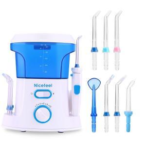 China OEM Oral Care Dental Jet Water Pick Teeth Cleaner Oral Irrigator With 600 Ml Tank on sale