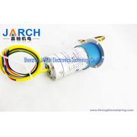 1000rpm M5 Connections Hybrid Slip Rings For Rotary Table / Industrial Machinery