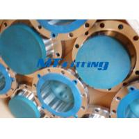China ASME / ANSI B16.5 SAF2205 / 2507 Flanges Pipe Fittings , Duplex Steel Slip On Flange wholesale