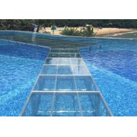 China Heavy Duty Acrylic Stage Platform Transparent Plexiglass Fit Swimming Pool on sale