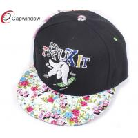 China Hip Hop Fitted Baseball Caps Monogrammed Baseball Cap For Girls wholesale