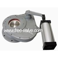 Buy cheap Pneumatic Ceramic Rotary Discharge Ash Gate Valve in coal power plant from wholesalers
