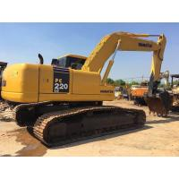 China 22 tonnage Second hand Komatsu excavator PC220-7 with water collant engine & A/C cab wholesale