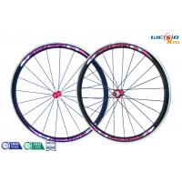 China Glossy Surface Alloy 6061 T6 Aluminum Bicycle Wheels , 12 Inch to 22 Inch wholesale
