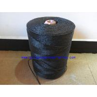 China Submarine Armouring Cable Filler Material Splityarn Black Color 2mm - 3mm Diameter wholesale