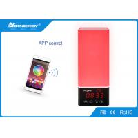 China Red Led Wireless Speakers / Outdoor Lights With Bluetooth Speakers Energy Saving wholesale