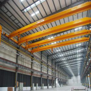 China 20T bridge overhead crane single beam travelling overhead crane wholesale