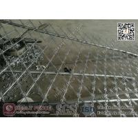 China 1.8mX6.0m CBT-60 Welded Razor Security Fencing 150X300mm Diamond Aperture wholesale