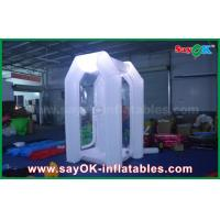 China 1.5mLX2mWX 2.5mH Inflatable Money Booth With Oxford Cloth For Event on sale