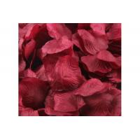 China wholesale wedding silk rose petal, artificial flower, differernt colors on sale