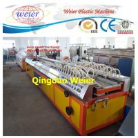 China 90kw 380v UPVC Profile Extrusion Line For Making Insulated Glass Window Frame on sale