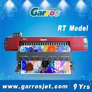China Garros RT1801 Digital 100% Cotton Fabric Printer Sublimation Textile Printing Machine with DX5 Head wholesale