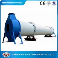 China GHG 2.0 * 24 1.5 Ton T/H Rotary Drum Dryer / Wood Chips Dryer wholesale