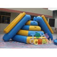 China 0.9mm PVC Vinyl Inflatable Water Toys Inflatable Climbing Slide For Water Park wholesale