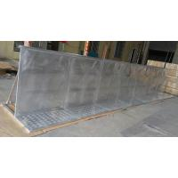 China Outdoor Concert Folding Aluminum Crowd Control Barrier / Barricade System on sale