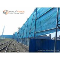 Quality Polyester Flexible Wind Fence, Green Color, 500g/SQ.M, China Wind Barrier for for sale