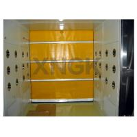 China PVC Curtain Rolling Door Clean Room Air Showers 316 Ss Frame Material on sale
