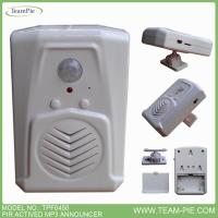 China MP3 DOOR BELL,PIR DOOR BELL,PIR VOICE ANNOUNCER,MP3 ANNOUNCER , VOICE TALKER on sale