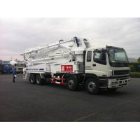 China 8x4 SSAB Steel ISUZU 47m Truck Mounted Concrete Pump / Delivery Equipment 390HP wholesale