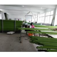 China Environment Friendly Garden Support Green PE Coated Steel Garden Stake wholesale