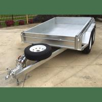 China 8x5 Hot Dipped Galvanized Tandem Trailer 2000KG wholesale