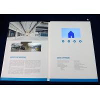 China 4.3 inch Professional lcd video brochure card for opening veremonies , company intruction wholesale