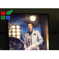 China Flat Pack LED Fabric Light Box For Indoor Retail Advertising Sign Board wholesale