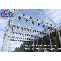 Arch Shape Aluminum Stage Truss , Outdoor Truss StructureTruss Display Systems