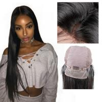 China Natural Black Remy Long Lace Front Wigs Human Hair 100% Unprocessed Good Feeling wholesale