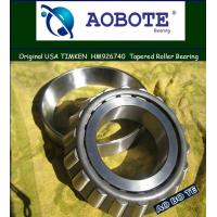 China Bi-direction Timken Taper Roller Bearings HM926740 / HM926710 with High-speed wholesale