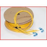 China LC UPC To LC UPC Fiber Optic Patch Cables , Pre Terminated Fiber Jumpers 12 Cores on sale